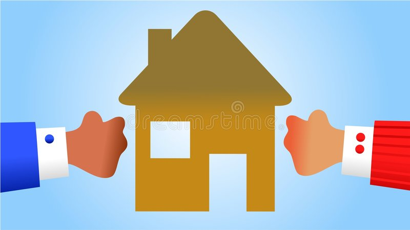 Property Battle Royalty Free Stock Image