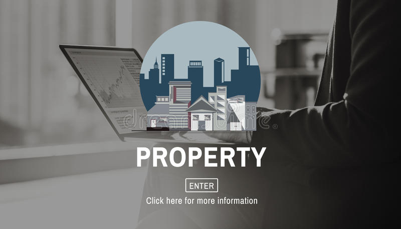 Property Business Financial Estate Investment Concept.  stock photography