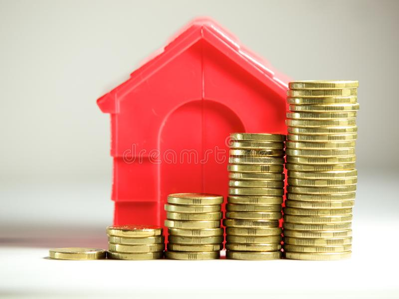 Property growth concept royalty free stock photo