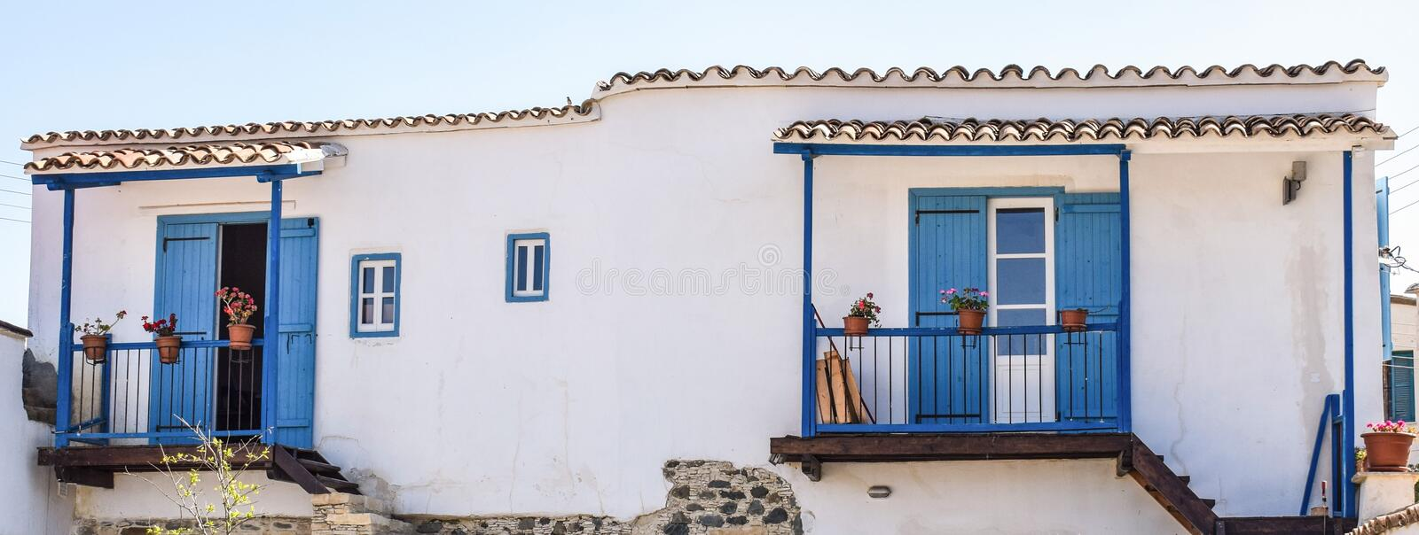 Property, House, Facade, Window royalty free stock photo