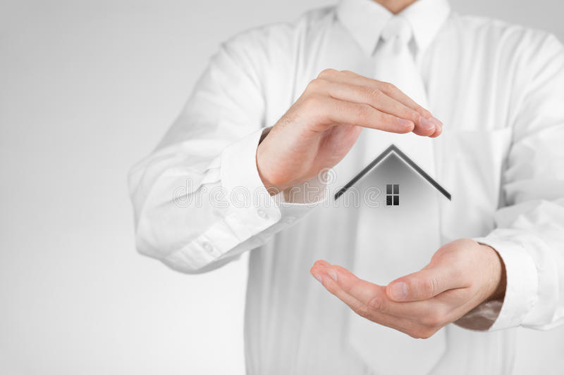 Property insurance royalty free stock images