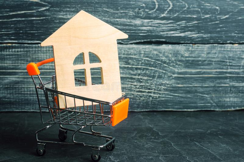 Property investment and house mortgage financial concept. buying royalty free stock images