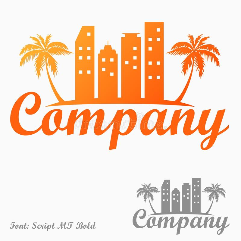 Download Property logo stock vector. Image of name, company, hotels - 34634475