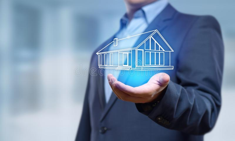 Property Management Real Estate Mortgage Rent Buy concept.  royalty free stock image