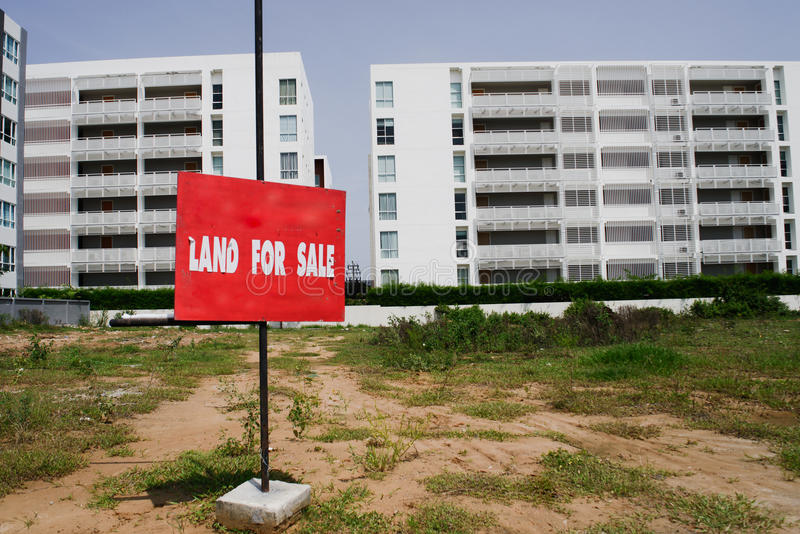 Property for sale. stock photo