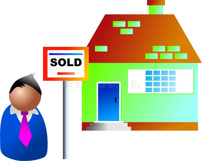 Download Property sold stock illustration. Image of life, property - 352521