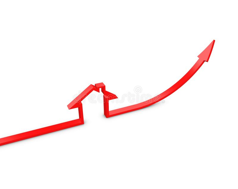Download Property Value stock illustration. Image of recession - 15444620