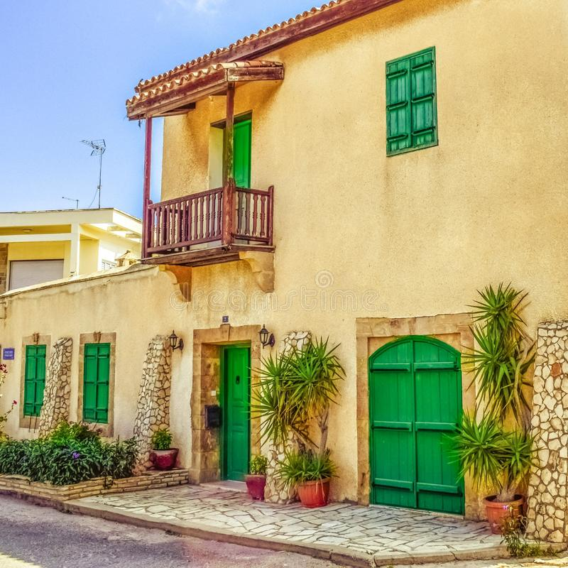 Property, Yellow, House, Home royalty free stock photo