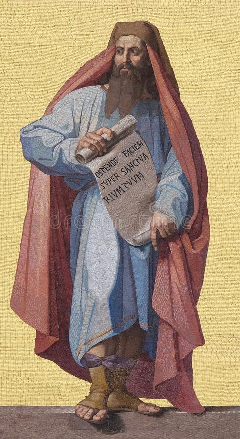Prophète Daniel photos libres de droits