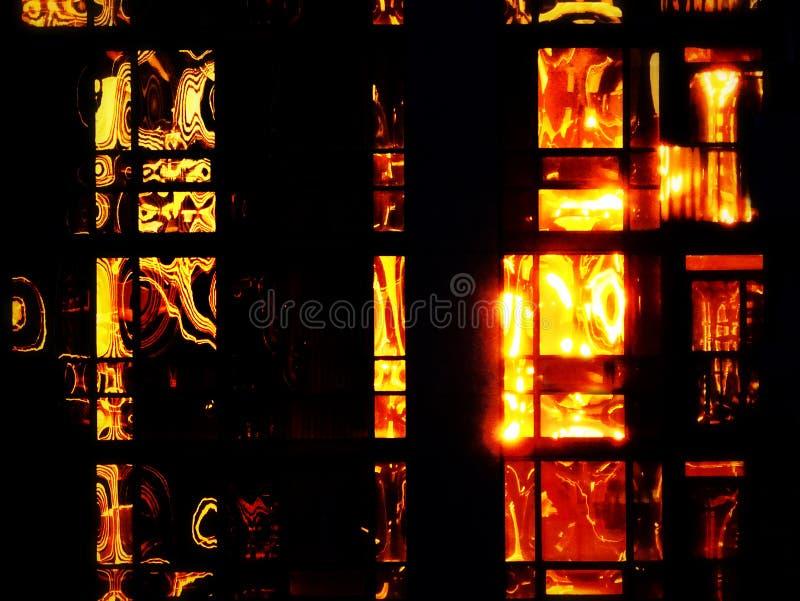 Propiedad horizontal del fuego imagen de archivo libre de regalías