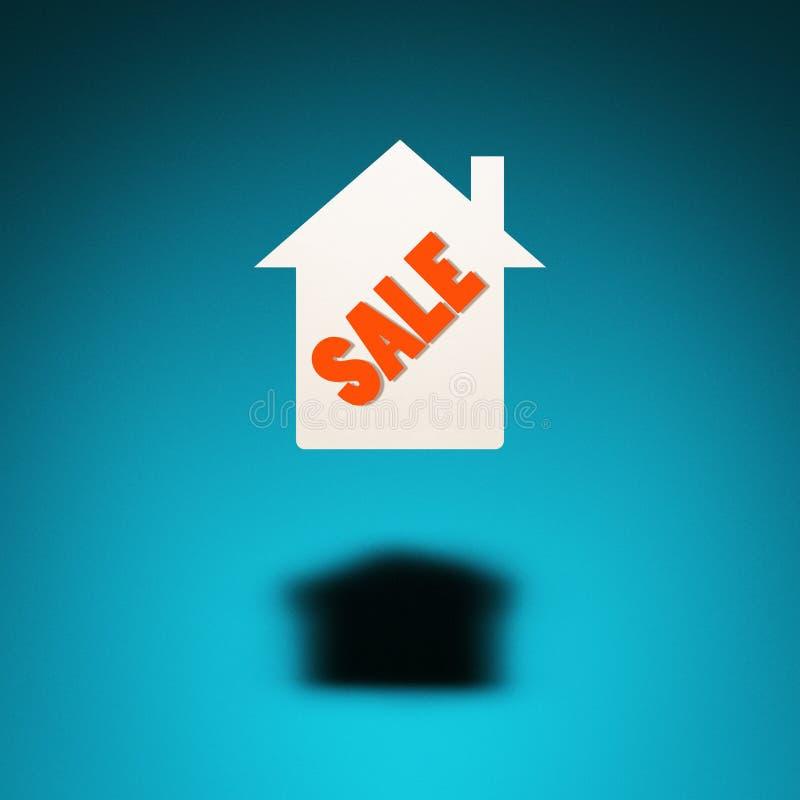 Propiedad para la venta stock de ilustración