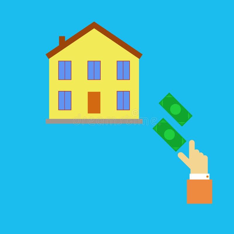 Propiedades inmobiliarias de compra libre illustration