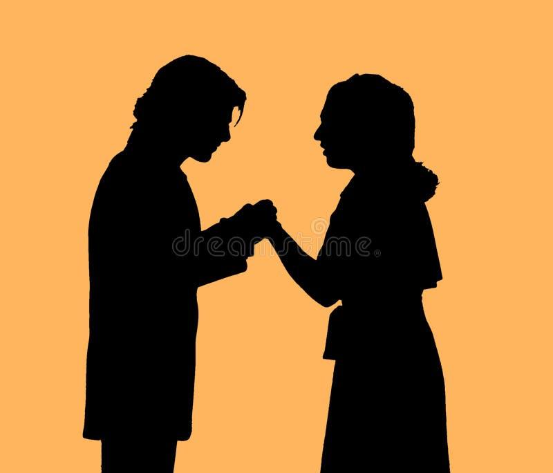 Proposal royalty free illustration
