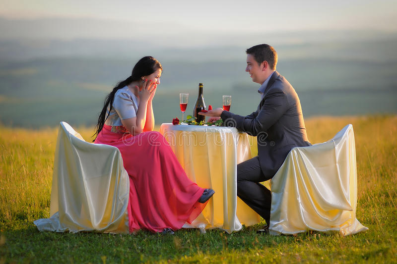 Proposal royalty free stock images
