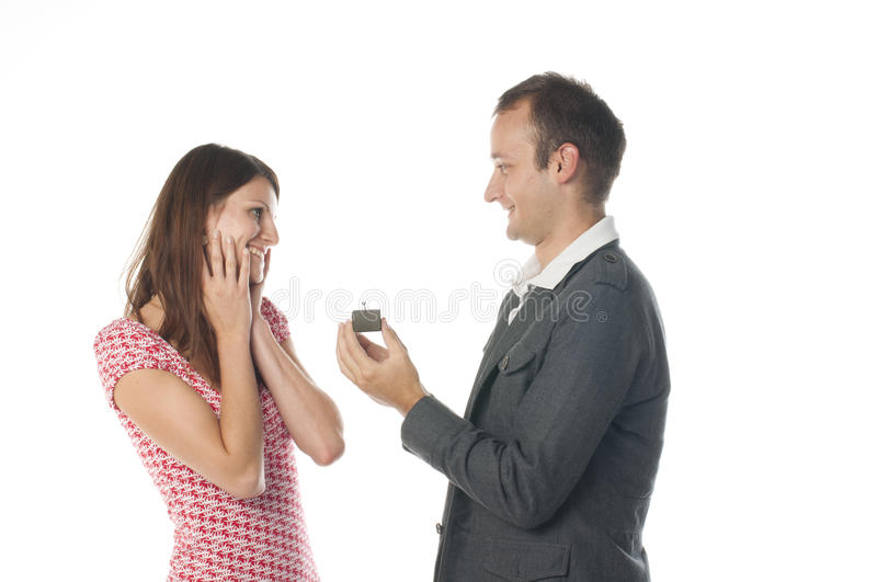 Download Proposal scene stock photo. Image of holding, happiness - 21602858