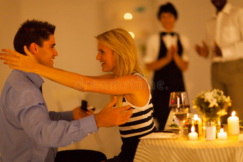 Download After he proposed stock image. Image of caring, dating - 28703187