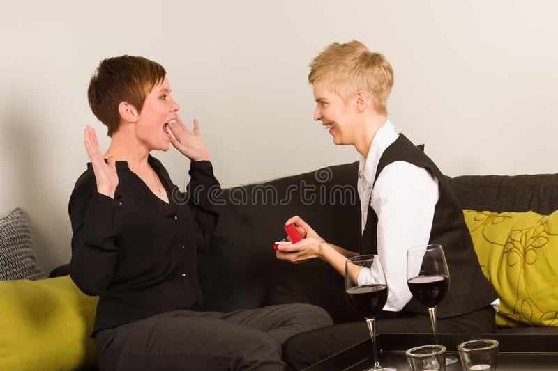 Proposing stock photography