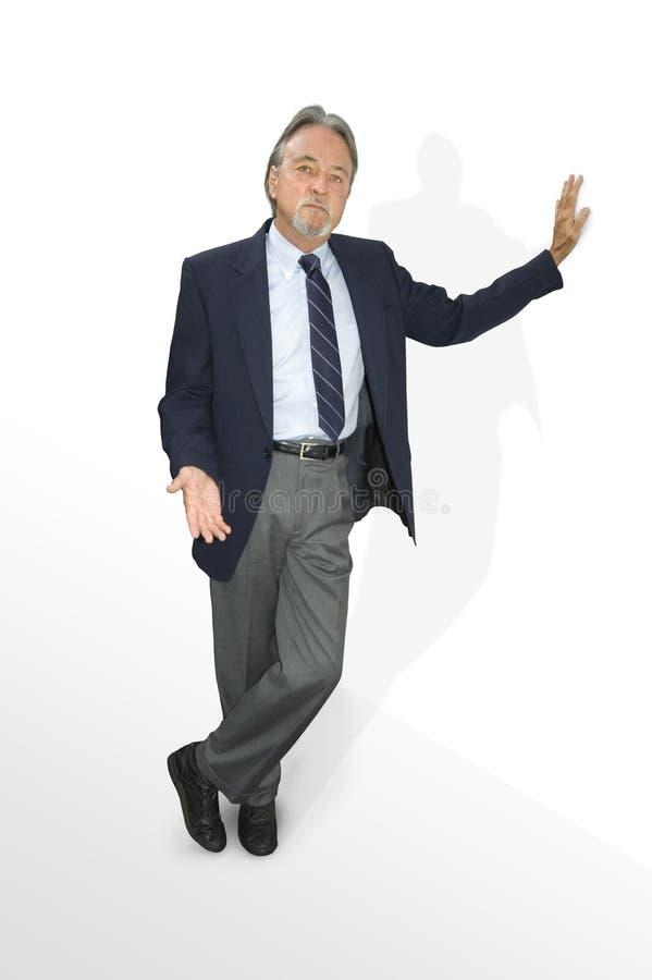 Proposition d'homme d'affaires image stock