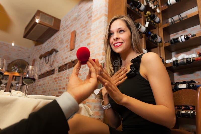 Proposition De Mariage Photos libres de droits