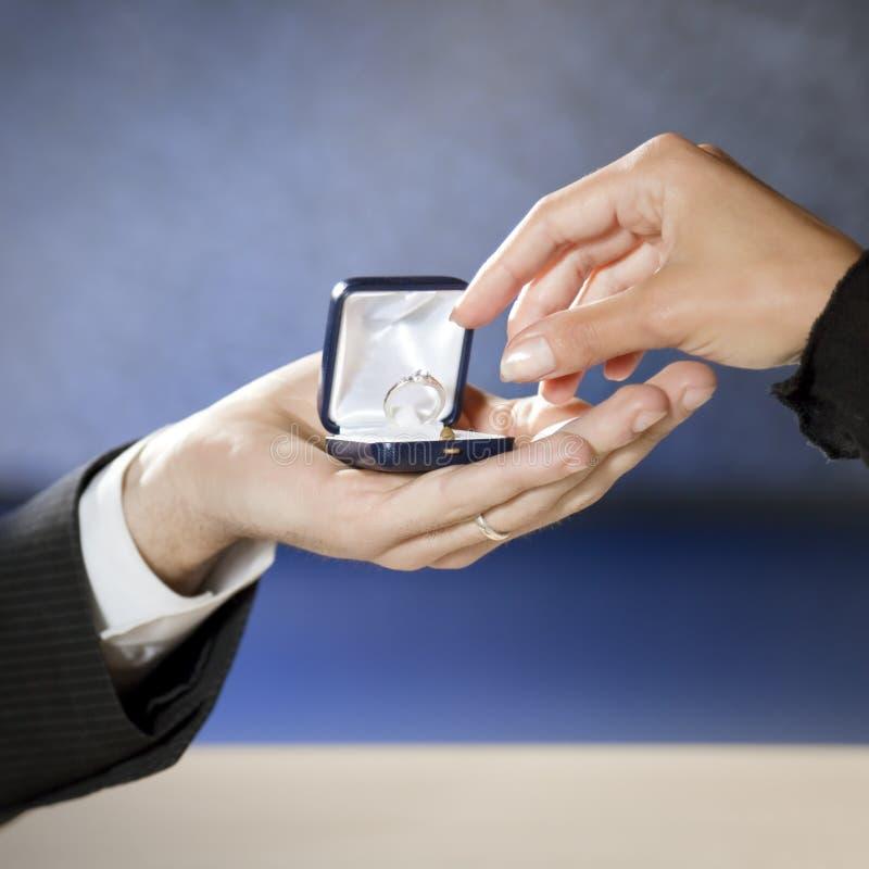 Download Proposition de mariage photo stock. Image du homme, rapports - 8650020