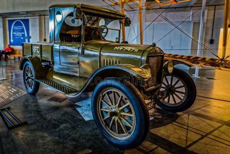 Proposta da luz de Ford Model T fotografia de stock