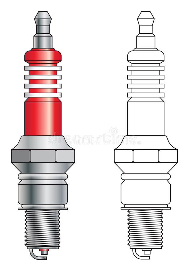proppsparkvektor vektor illustrationer