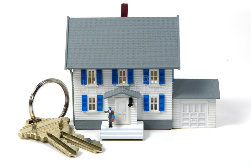Propriétaire d'une maison 2 photo libre de droits