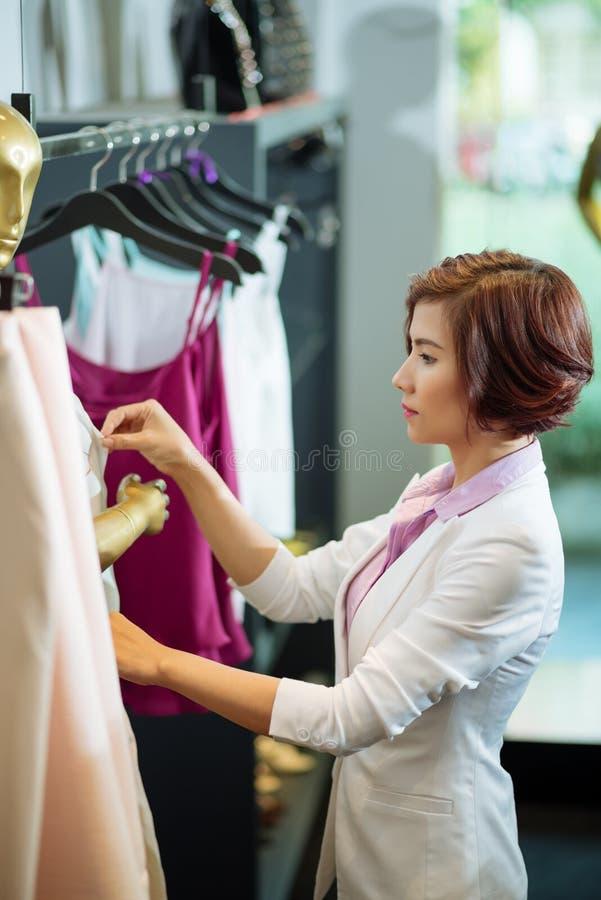 Propriétaire de boutique image libre de droits