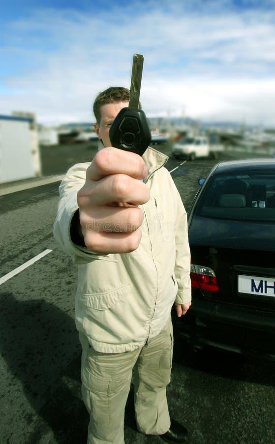 Propriétaire de véhicule photos libres de droits