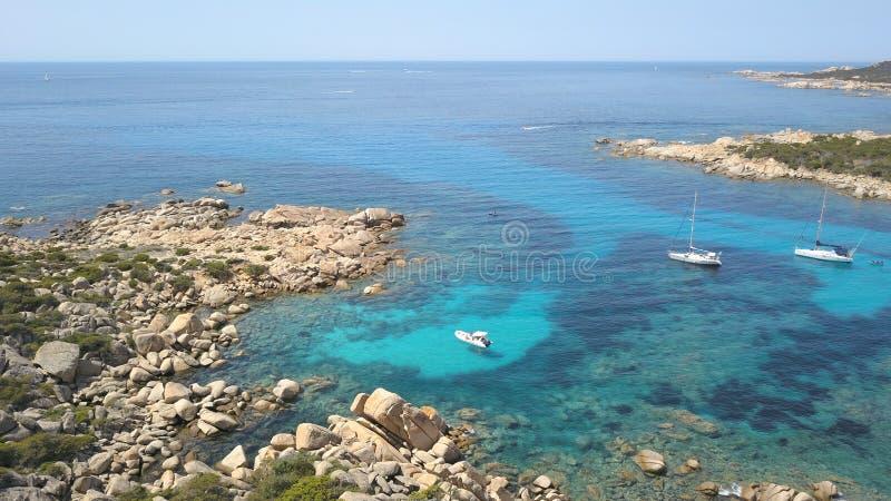 Propriano dell'insenatura, Corsica immagini stock libere da diritti