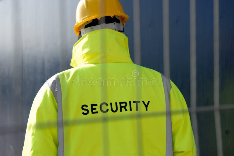 Propriedade de Proteção do Security Guard foto de stock
