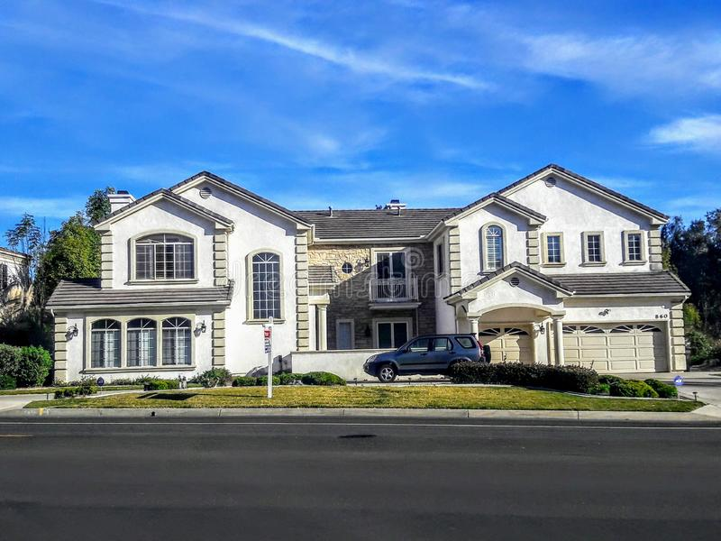 Propriedade de Real Estate na noz Califórnia fotos de stock