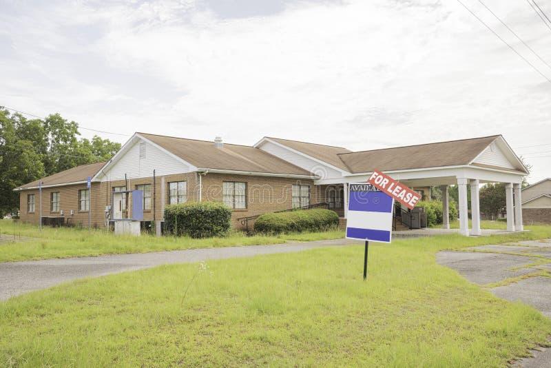 Propriedade de Real Estate para o aluguer foto de stock