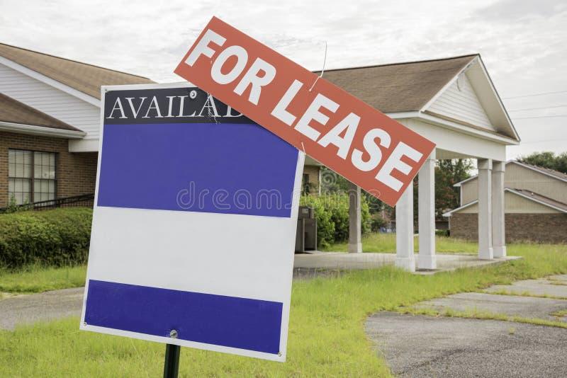 Propriedade de Real Estate para o aluguer imagem de stock royalty free