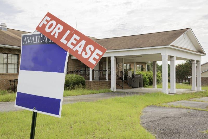 Propriedade de Real Estate para o aluguer foto de stock royalty free