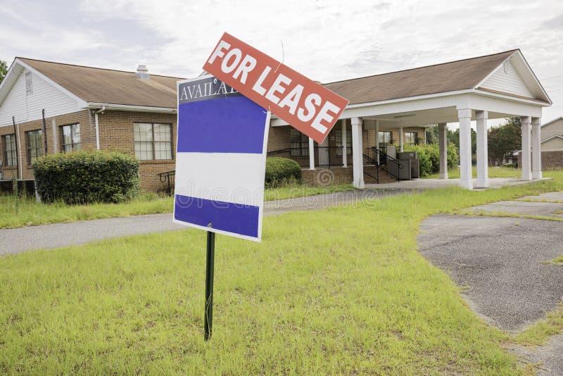 Propriedade de Real Estate para o aluguer imagens de stock royalty free