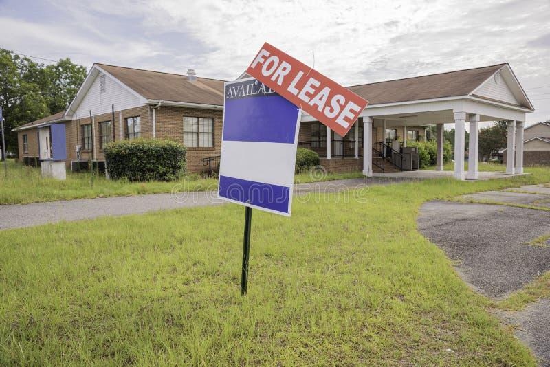 Propriedade de Real Estate para o aluguer imagem de stock