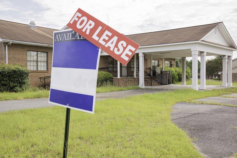 Propriedade de Real Estate para o aluguer imagens de stock