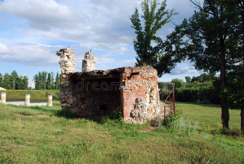 A propriedade do barão von-Derwis em Kiritsakh Sanatório hoje em dia tubercular Região de Ryazan fotografia de stock