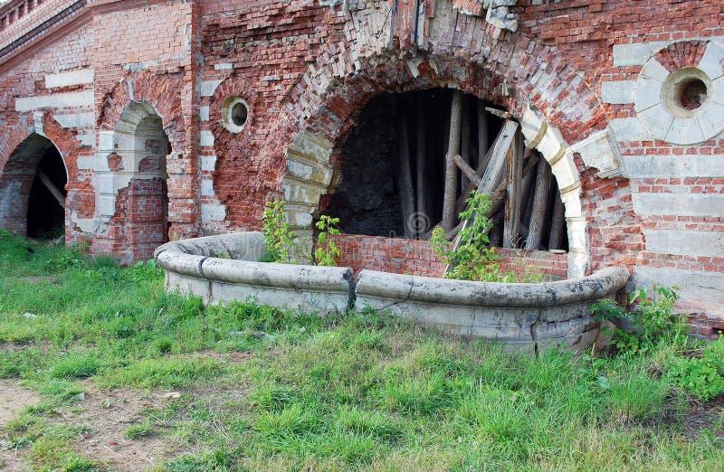 A propriedade do barão von-Derwis em Kiritsakh Sanatório hoje em dia tubercular Região de Ryazan imagens de stock royalty free
