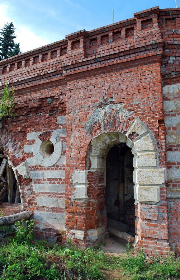 A propriedade do barão von-Derwis em Kiritsakh Sanatório hoje em dia tubercular Região de Ryazan fotos de stock royalty free