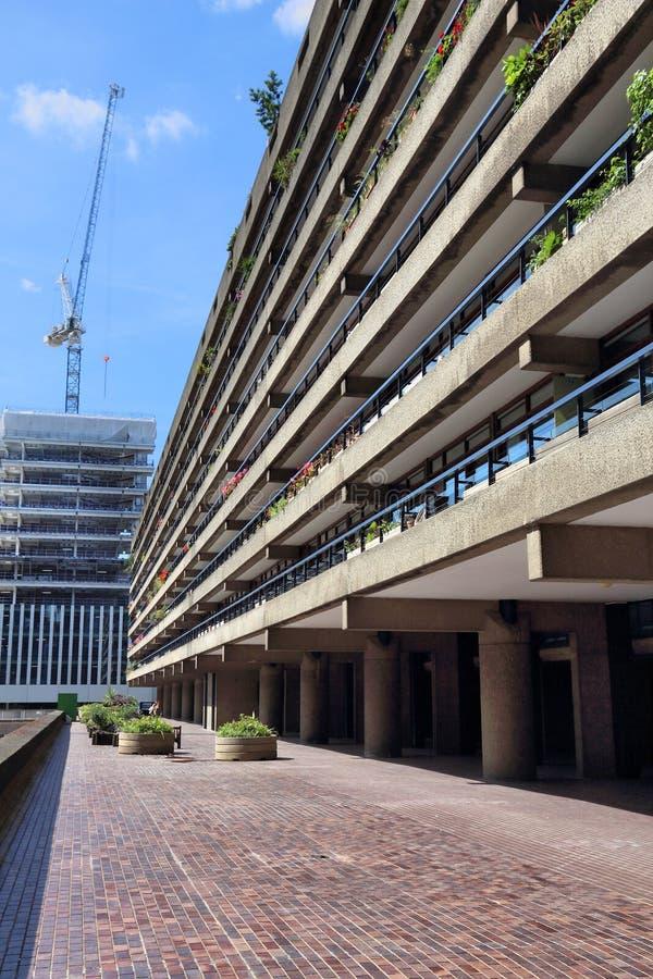 Propriedade do Barbican, Londres fotos de stock royalty free
