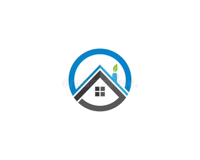 Propriedade Logo Template ilustração do vetor