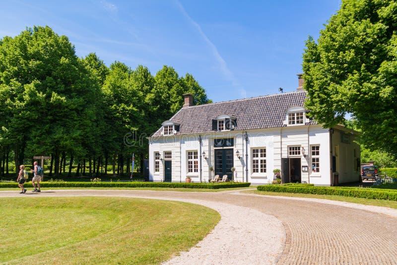 Proprietà Beeckestijn in Velsen, Paesi Bassi fotografie stock libere da diritti
