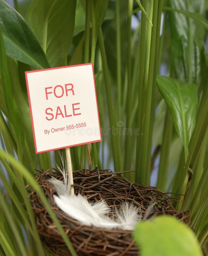 Proprietà da vendere immagine stock libera da diritti