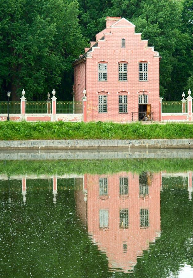 Proprietà di Kuskovo, Mosca: Casa olandese fotografia stock libera da diritti