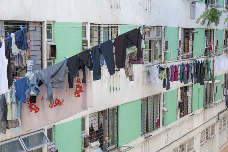 Proprietà pubblica nella città di Hong Kong fotografia stock