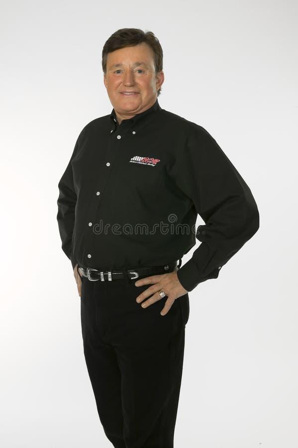 Proprietário do copo de NASCAR Sprint, Richard Childress fotos de stock royalty free