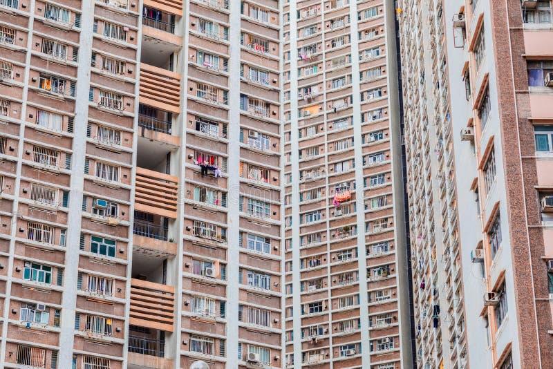 Propriet? dell'edilizia popolare in Hong Kong fotografia stock