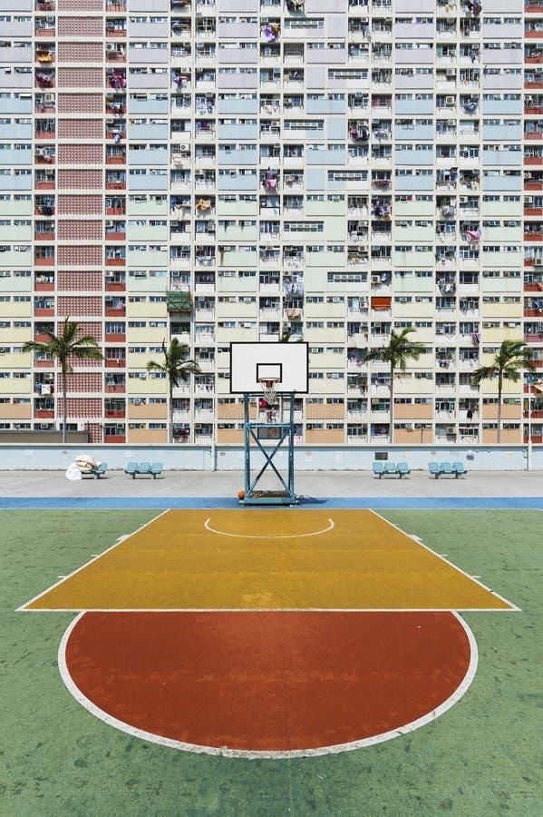 Propriet? pubblica nella citt? di Hong Kong immagini stock